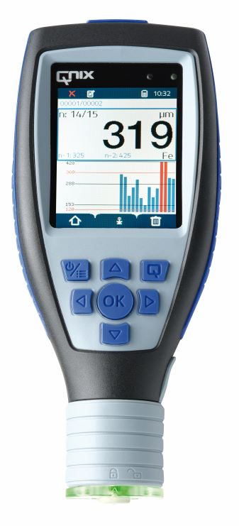 QNix 9500 Coating thickness Gauges for dry film thickness measurement